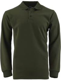 poloshirt SINOL long sleeve