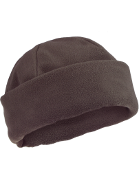 fleece cap - brown