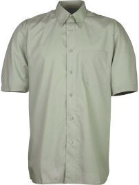 shirt BEROLA light green short sleeve