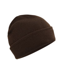 Knitted cap - brown