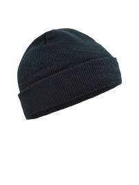 Knitted cap - black
