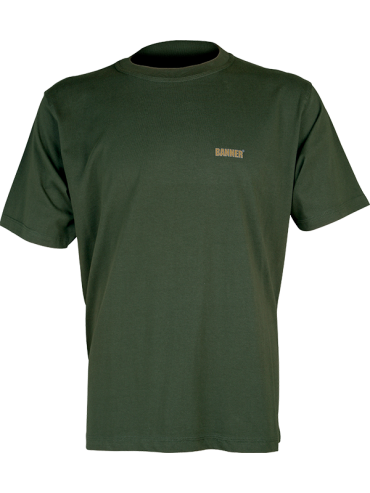 t-shirt BANNER dark green