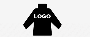 <b>Realisation of<br> customer's logo</b><br>embroidery or print